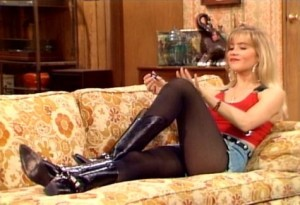 Christina Applegate epitomizing 90s aesthetic in Married... With Children