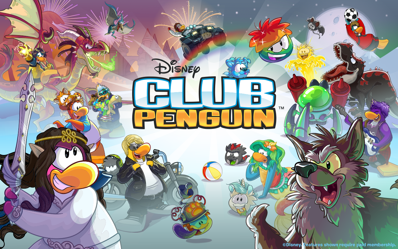 Image result for How to Play Games on Club Penguin