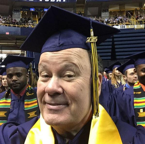Dennis Haskins graduated from UTC in 2015.