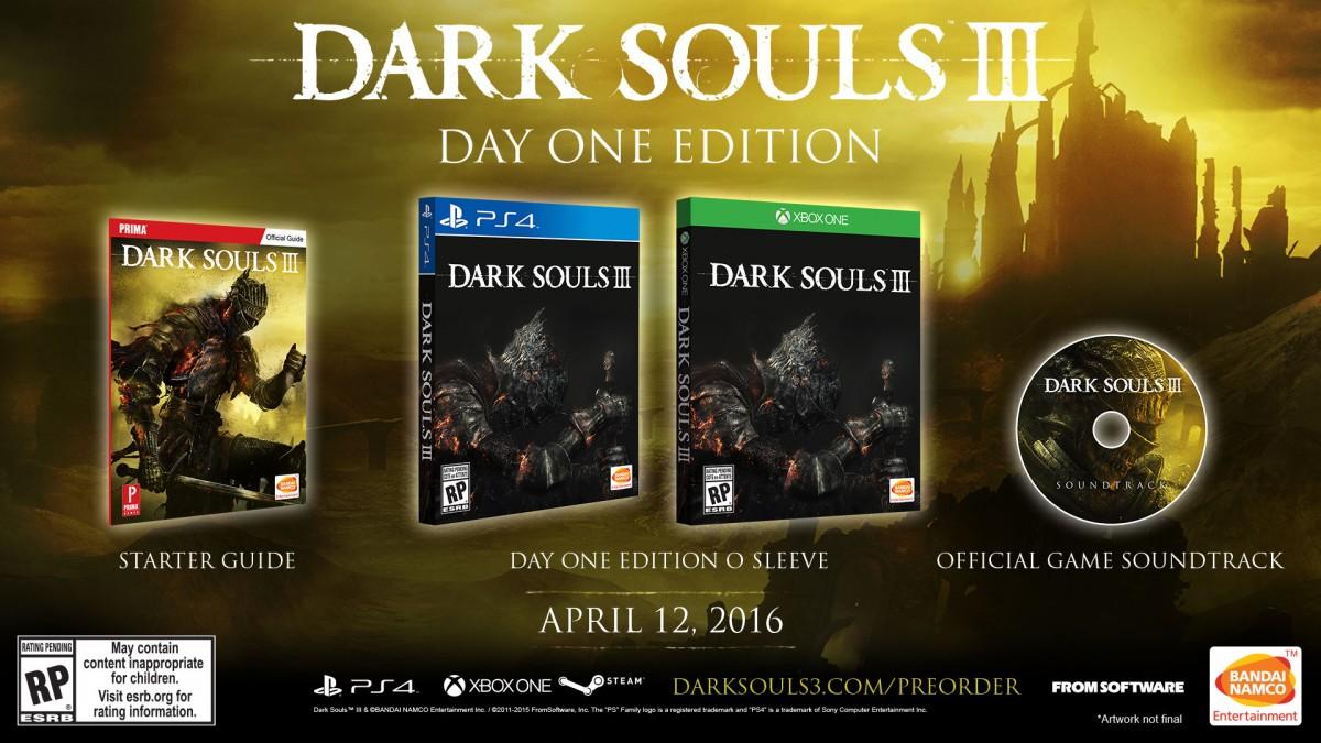 Collectorsedition. Org » dark souls iii day one edition (xb1.