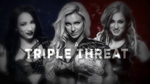 Sasha Banks, Charlotte and Becky
