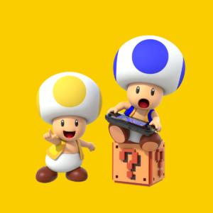Super Mario Maker Toad