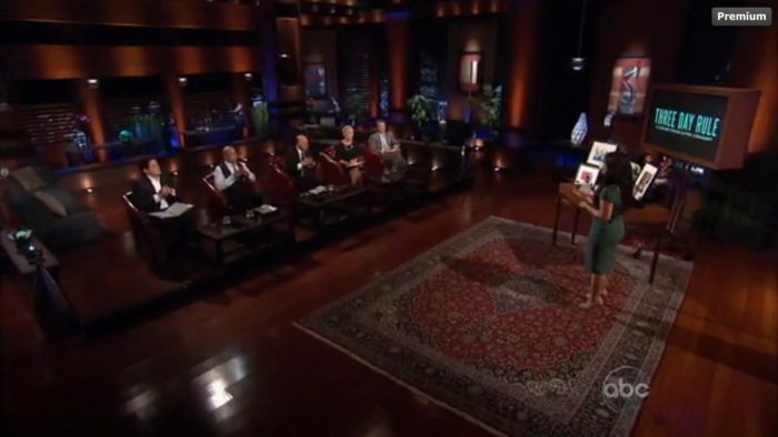 Three day rule dating shark tank