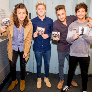 Niall and his band mates on the release of their fifth studio album - the first album as a four-piece