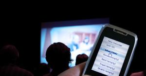 theatre-texting