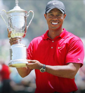 Tiger Woods has had many Major success over the years