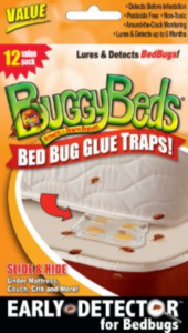 BuggyBeds - a revolutionary early detection device to stop the epidemic of bed bugs