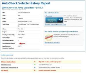 car-history-report