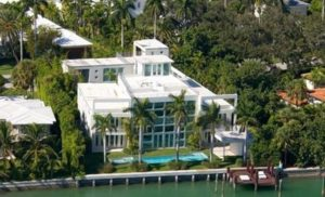 Lil Wayne's mansion is in one of the most prestigious parts of Miami Beach