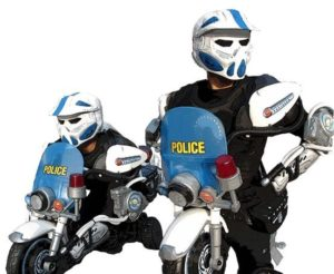 shark tank-drive suits-police