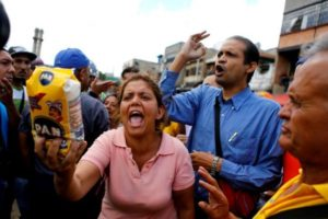 Food shortages have fueled protests and unfortunate violence in Caracas.