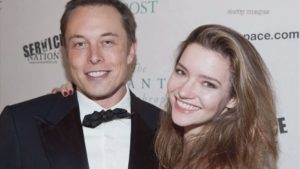Elon-Musk-and-his-wife