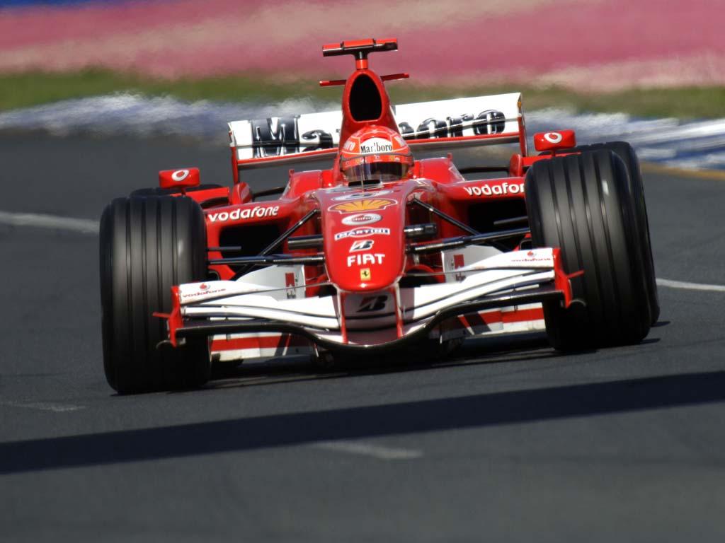 Michael Schumacher Auto Racing