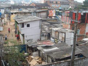 Slums such as this are unfortunate hotbeds of crime for the nation.
