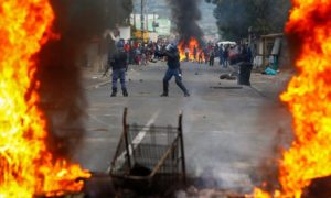 Riots due to economic inequality are not uncommon for Cape Town.