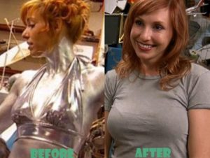 For one episode of MythBusters, Kari had herself painted in aluminium dust to test the health risks