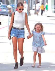 A Recent Picture Of Nicole Richie And Her Daughter Harlow