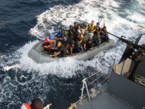 One of the few places that continue to suffer active pirate attacks is off the coast of Nigeria