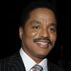 Portrait of Marlon Jackson on a black background