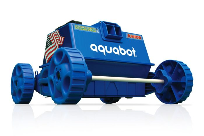 Aquabot pool rover jr 2018 pool cleaner review for Best robotic pool cleaner 2016