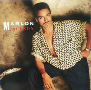 "The cover of Marlon Jackson's solo album ""Baby Tonight"""
