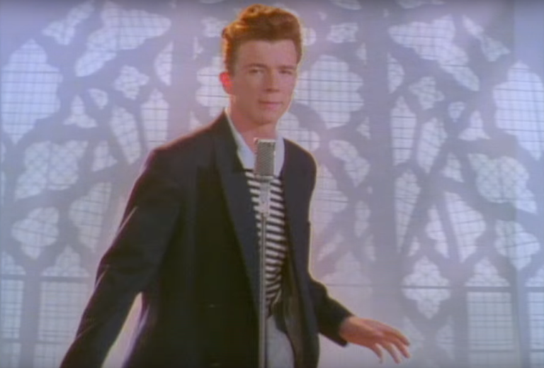 Rick Astley Never Gonna Give You Up Video Youtube - 768×519