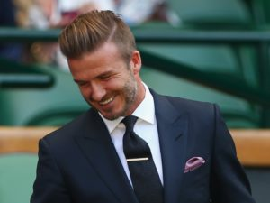 A little less pronounced, the shorter quiff can be seen on athletes, rockers and office types equally.