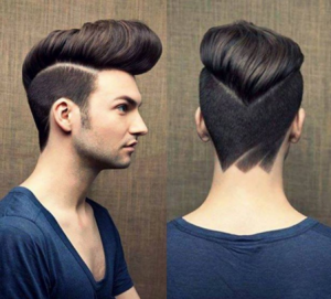 Similar to the pompadour, this look is the definition of bold.