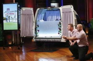james explains that the wedding wagon was launched in the wedding capital of the world las vegas and they are ready to take the concept nationwide