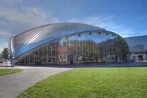 The Kresge Auditorium of MIT