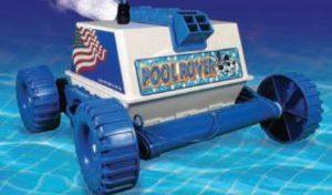 Rover Hybird in water