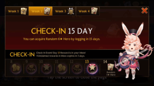 Aside from winning battles, simply signing in can also result in bonuses if done daily.