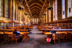 The Suzzallo Library within the University of Washington