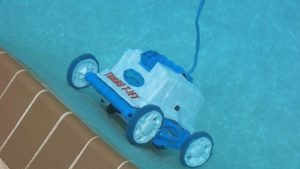 Turbo T-Jet in water