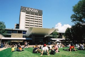 The Library building at UNSW