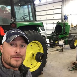 Chris Soules is spending his time working on his family's pig farm, growing soy and feed corn.