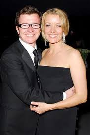Rick Astley and his wife, Lene Bausager.