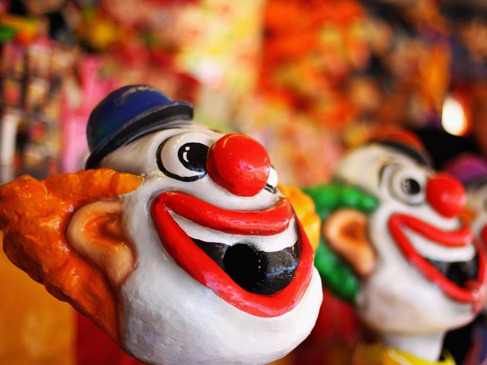 fear clowns Coulrophobia definition, an abnormal fear of clowns see more.