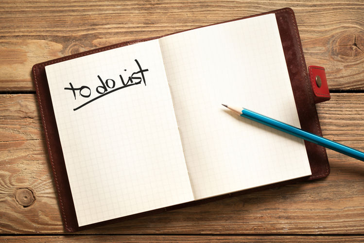 What should a to-do list ...