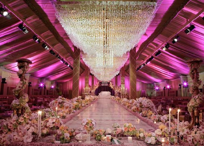 Top 10 most expensive weddings of all time the gazette for Most expensive wedding photographer in the world