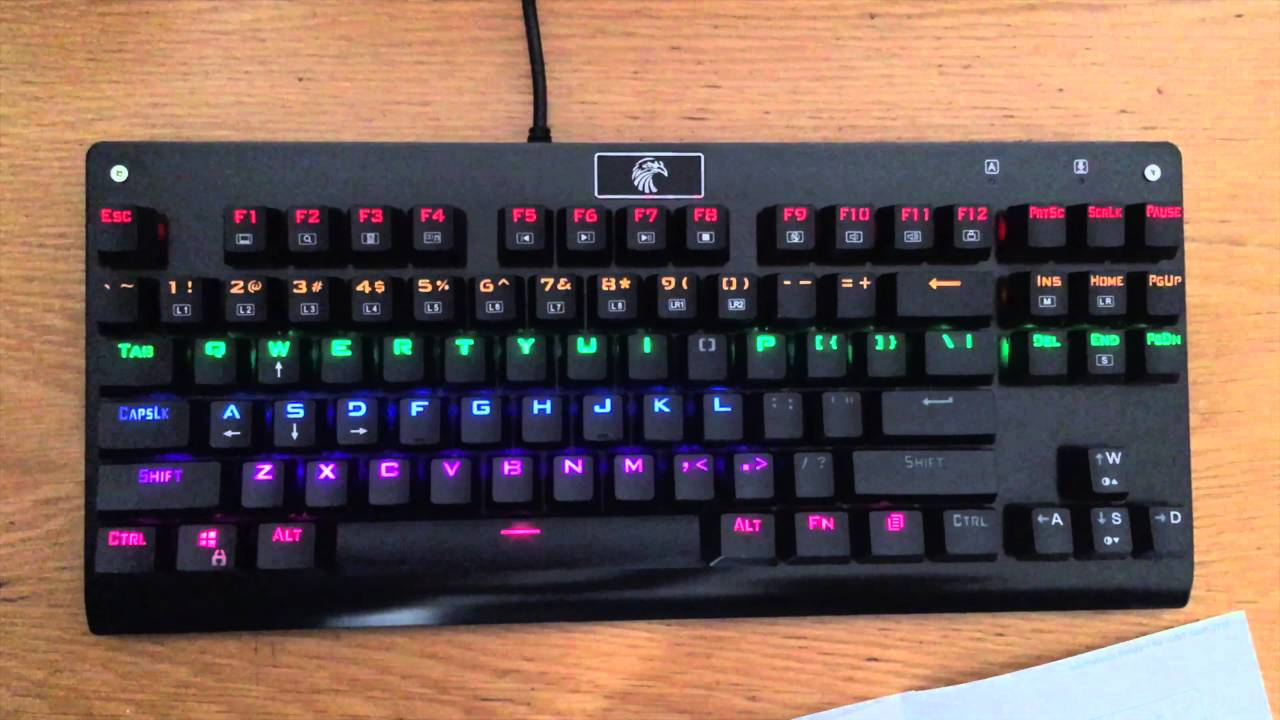 top 5 wired gaming keyboards gazette review. Black Bedroom Furniture Sets. Home Design Ideas