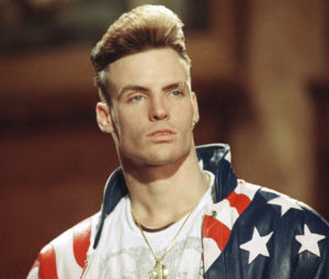 Vanilla Ice during the start of his career