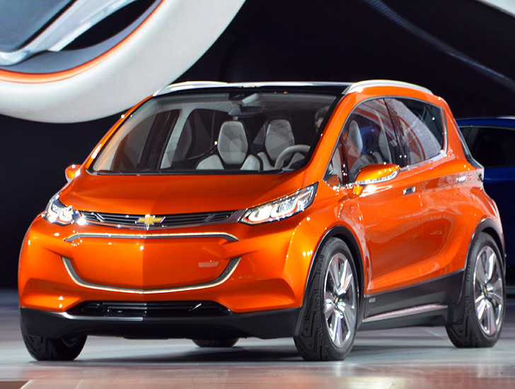 The 2017 Chevrolet Bolt