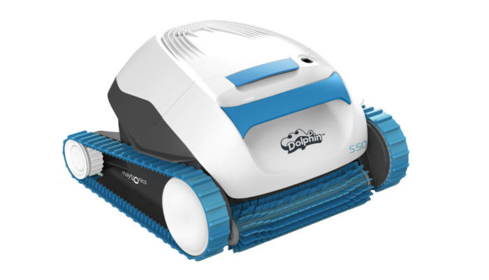 Maytronic dolphin s 50 robotic pool cleaner review the for Pool cleaner reviews 2013