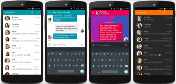 Top Ten Messaging Apps for Android - Gazette Review