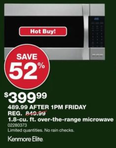 Countertop Microwave Black Friday : Best Black Friday Microwave Deals in 2016 - The Gazette Review