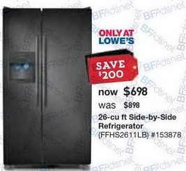 best refrigerator deals on black friday the gazette review. Black Bedroom Furniture Sets. Home Design Ideas