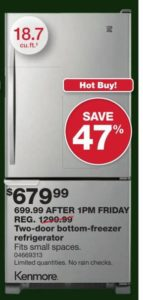 2016-black-friday-refrigerator-deals-sears