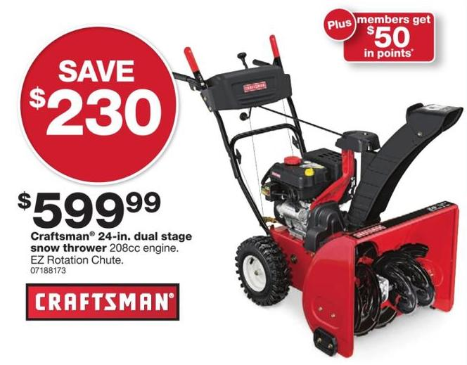Menards Snow Blowers >> Top Snowblower Deals for Black Friday - The Gazette Review