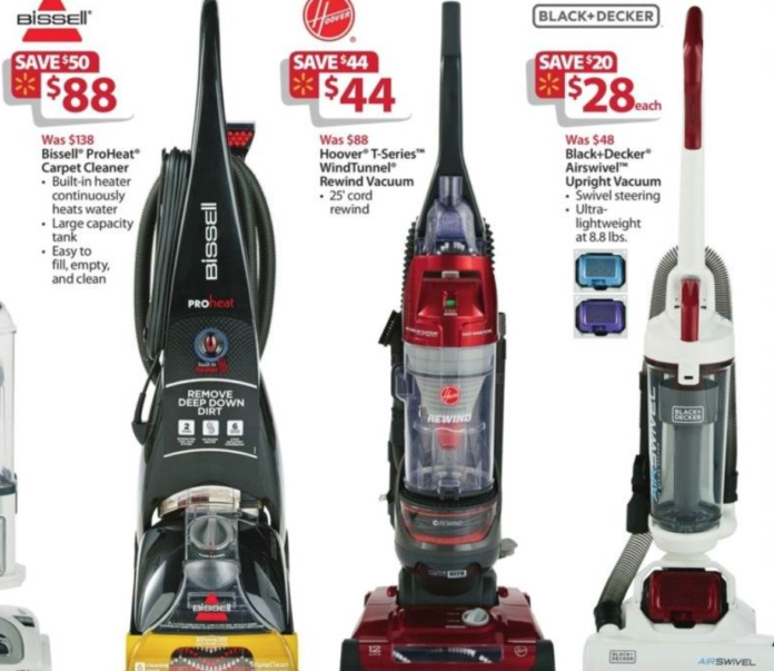 Vacuum Cleaners Walmart